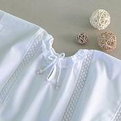 Работы для детей, ручной работы. Ярмарка Мастеров - ручная работа крестильная рубаха ГРИША. Handmade.