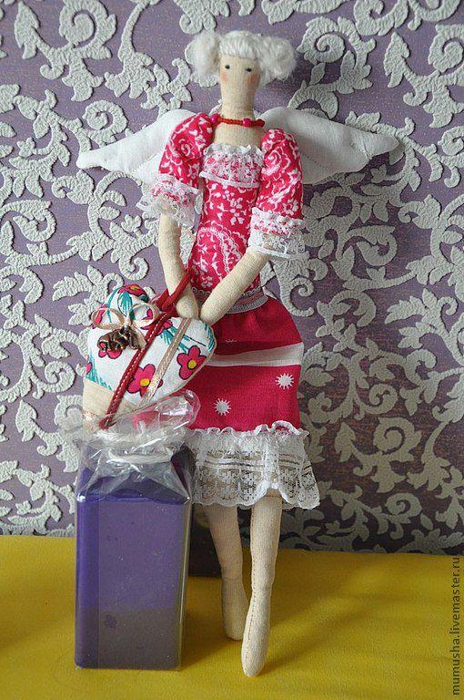 Куклы Тильды ручной работы. Ярмарка Мастеров - ручная работа. Купить кукла Александра-фея хранительница домашнего очага. Handmade.
