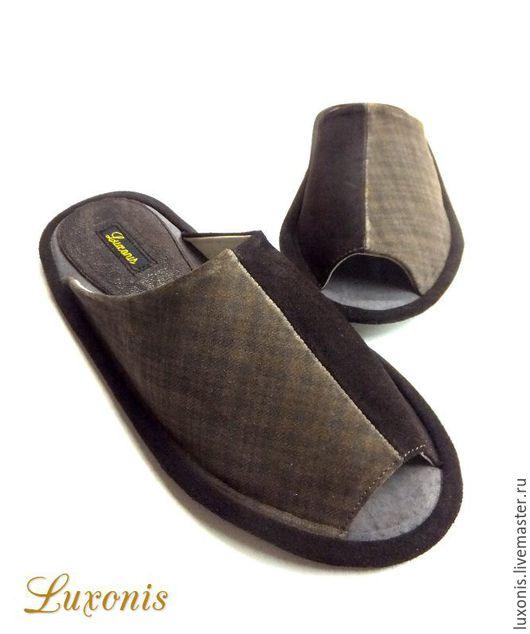 """Обувь ручной работы. Ярмарка Мастеров - ручная работа. Купить Мужская обувь """"Темный шоколад"""". Handmade. Коричневый, подарок мужу"""