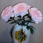 Цветы и флористика ручной работы. Ярмарка Мастеров - ручная работа Пион - нежно розовый. Handmade.