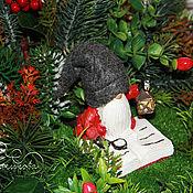 Сувениры и подарки handmade. Livemaster - original item New year in the forest Interior arrangement. Handmade.