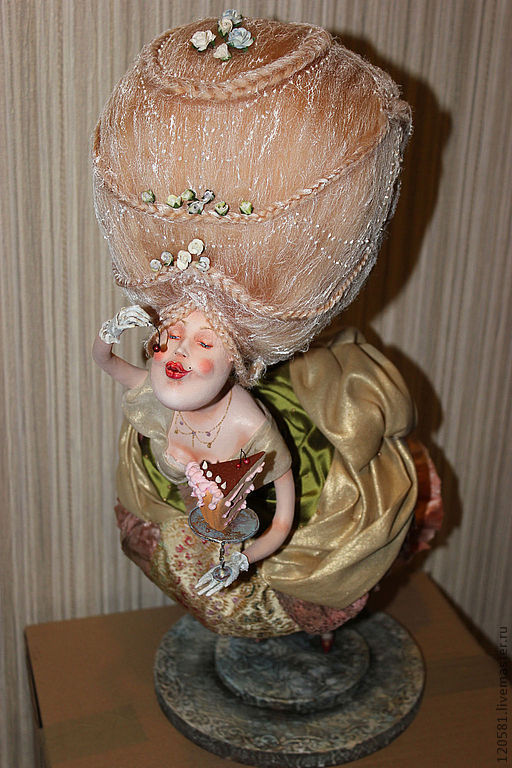 Коллекционные куклы ручной работы. Ярмарка Мастеров - ручная работа. Купить Авторская кукла-Десерт. Handmade. Авторская ручная работа