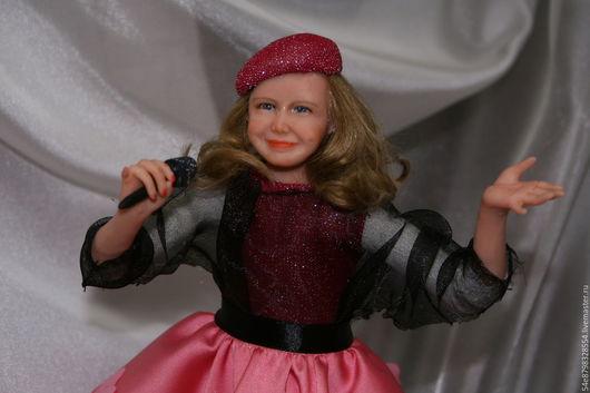 """Коллекционные куклы ручной работы. Ярмарка Мастеров - ручная работа. Купить """"Я вам спою"""". Handmade. Ливингдолл, масляные краски"""