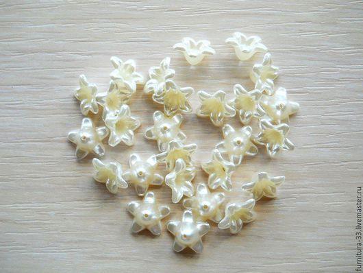 акриловые цветочки, акриловые бусины,цветочки из акрила