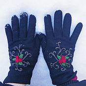 Аксессуары ручной работы. Ярмарка Мастеров - ручная работа варежки и перчатки  для красавиц. Handmade.