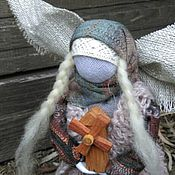 Куклы и игрушки ручной работы. Ярмарка Мастеров - ручная работа Тёплый Ангел с мельничкой. Handmade.