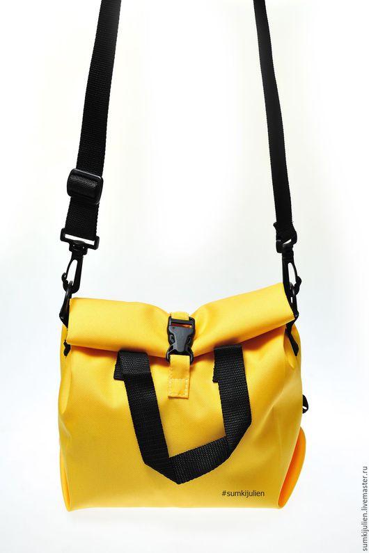 Женские сумки ручной работы. Ярмарка Мастеров - ручная работа. Купить Сумка для обедов или для города. Handmade. Желтый