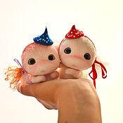 Куклы и игрушки ручной работы. Ярмарка Мастеров - ручная работа Гусенички. Handmade.