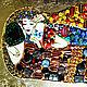 Copy of Painting of the semi-precious stones Gustav Klimt The Kiss. Pictures. House of Sun. Artist Irina Bast. My Livemaster. Фото №6