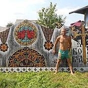 Русский стиль ручной работы. Ярмарка Мастеров - ручная работа Ворота. Handmade.