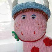 Куклы и игрушки ручной работы. Ярмарка Мастеров - ручная работа Коровка Веснушка. Handmade.