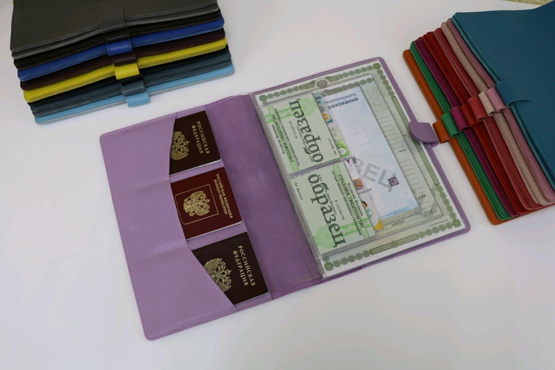 Organizer for A4 documents lilac, Folder, Moscow,  Фото №1
