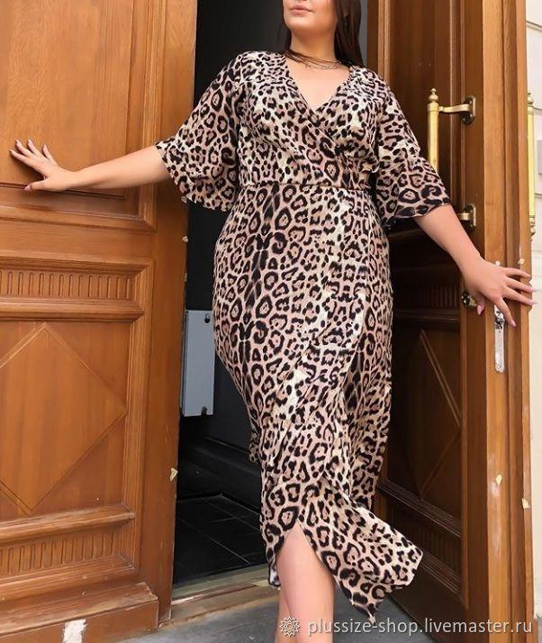 """Платье """"Леопард"""", Платья, Москва, Фото №1"""