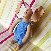 Куклы и игрушки ручной работы. Ярмарка Мастеров - ручная работа Тильда заяц Весенний. Handmade.