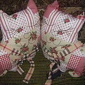 """Для дома и интерьера ручной работы. Ярмарка Мастеров - ручная работа """"Веселые коты"""". Детское одеяло с подушками. Handmade."""