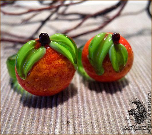 """Кольца ручной работы. Ярмарка Мастеров - ручная работа. Купить Кольцо """"Мандарин"""". Handmade. Оранжевый, кольцо ручной работы"""
