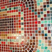 """Для дома и интерьера ручной работы. Ярмарка Мастеров - ручная работа Стол обеденный  """"Приятного аппетита"""",мозаика. Handmade."""