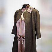 Одежда handmade. Livemaster - original item Retro set - Coat and dress. Handmade.