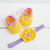 Работы для детей, handmade. Livemaster - original item Spring kit knitted. Handmade.