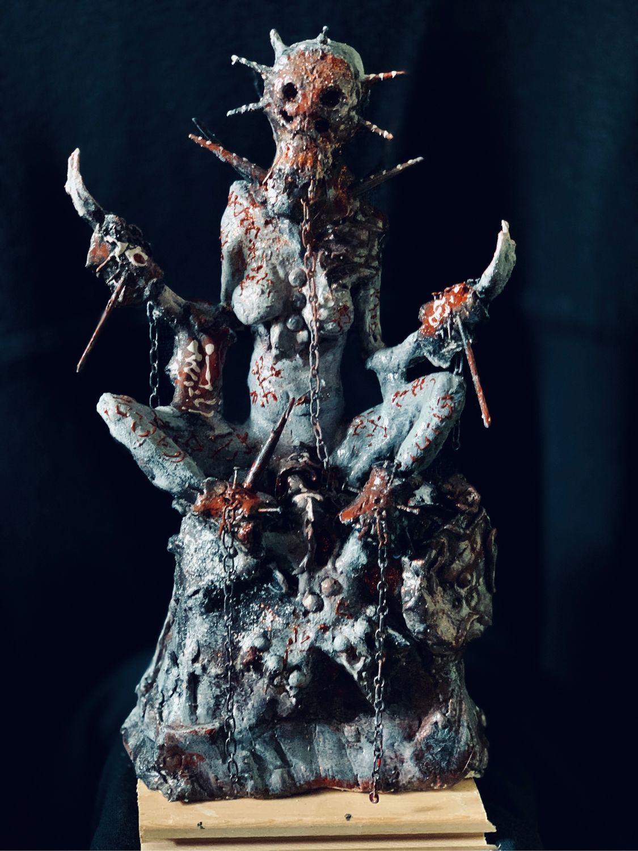 Готика ручной работы. Ярмарка Мастеров - ручная работа. Купить Shaman of the Dead -  The eternal guardian. Handmade.