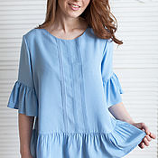 Одежда handmade. Livemaster - original item Blouse tunic. Handmade.