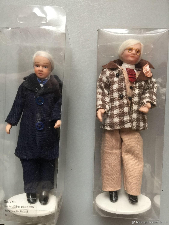 Дворецкий мужчина Кукла в кукольный домик  ДОМ МЕЧТЫ, Кукольные домики, Санкт-Петербург,  Фото №1