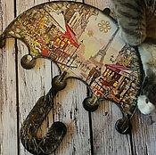 """Ключницы ручной работы. Ярмарка Мастеров - ручная работа Ключница """"Из Парижа с любовью"""". Handmade."""