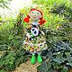 Текстильная кукла ручной работы. Авторская игрушка. Ярмарка мастеров. Светлинки.