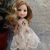 Одежда для кукол ручной работы. Ярмарка Мастеров - ручная работа Летнее платье для Паола Рейна. Handmade.