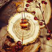Украшения handmade. Livemaster - original item Aroma bottle made of birch wood for essential oils WP49. Handmade.