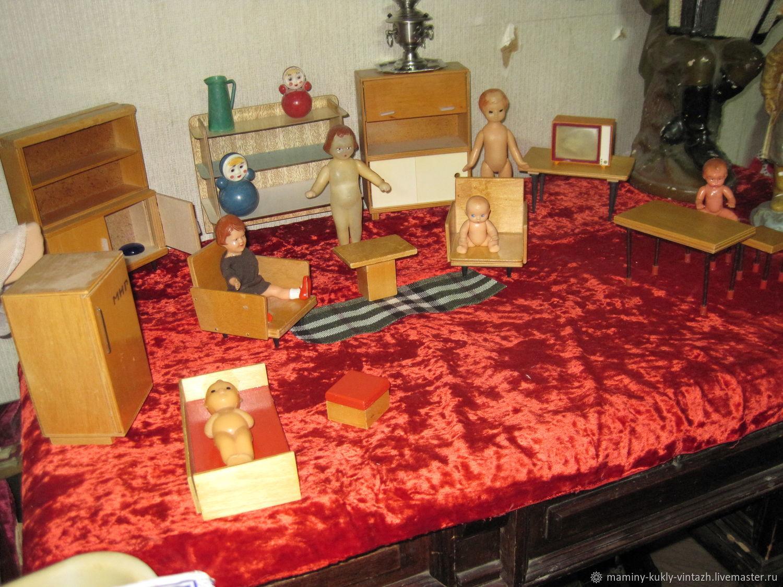 Vintage toys: furniture for dolls, Vintage toy, Ekaterinburg,  Фото №1
