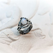 Украшения handmade. Livemaster - original item Wide silver ring