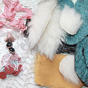 Материалы для творчества ручной работы. Ярмарка Мастеров - ручная работа Набор для создания совы тедди. Handmade.