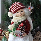 Кукла коллекционная текстильная авторская Эля