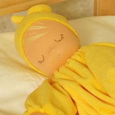 """Куклы и игрушки ручной работы. Ярмарка Мастеров - ручная работа Сплюшка """"Солнце ясное"""" - вальдорфская куколка. Handmade."""
