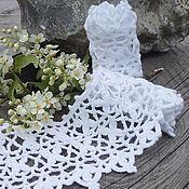 Для дома и интерьера ручной работы. Ярмарка Мастеров - ручная работа Кружевная кайма для полотенца. Handmade.