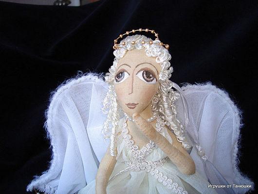 """Сказочные персонажи ручной работы. Ярмарка Мастеров - ручная работа. Купить """"Ангелы неразлучные"""" - интерьерная куклольная композиция. Handmade. Ангелы"""