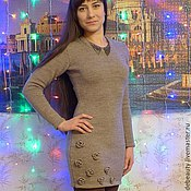 Одежда ручной работы. Ярмарка Мастеров - ручная работа Платье Цветочное настроение. Handmade.