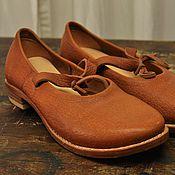 Обувь ручной работы. Ярмарка Мастеров - ручная работа Кожаные туфли ручной работы. Handmade.