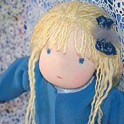 Куклы и игрушки ручной работы. Ярмарка Мастеров - ручная работа Текстильная кукла Синеглазка. Handmade.
