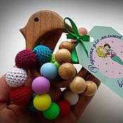 Куклы и игрушки handmade. Livemaster - original item Teething Toy Bird. Handmade.