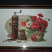 """Картины и панно ручной работы. Ярмарка Мастеров - ручная работа Картина """"Кофе"""". Handmade."""