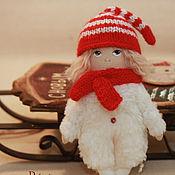 Куклы и игрушки ручной работы. Ярмарка Мастеров - ручная работа Малышка на елку:). Handmade.