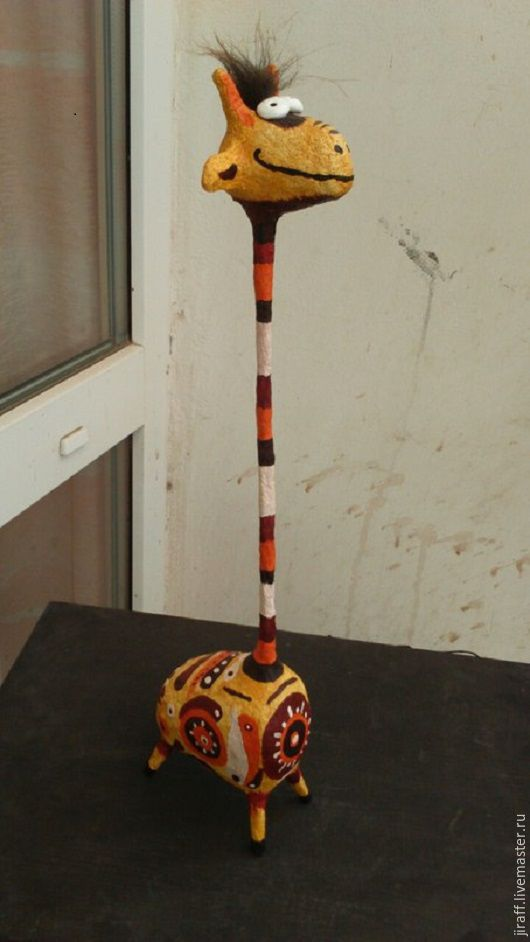 Статуэтки ручной работы. Ярмарка Мастеров - ручная работа. Купить Жираф. Handmade. Комбинированный, статуэтка ручной работы, африка