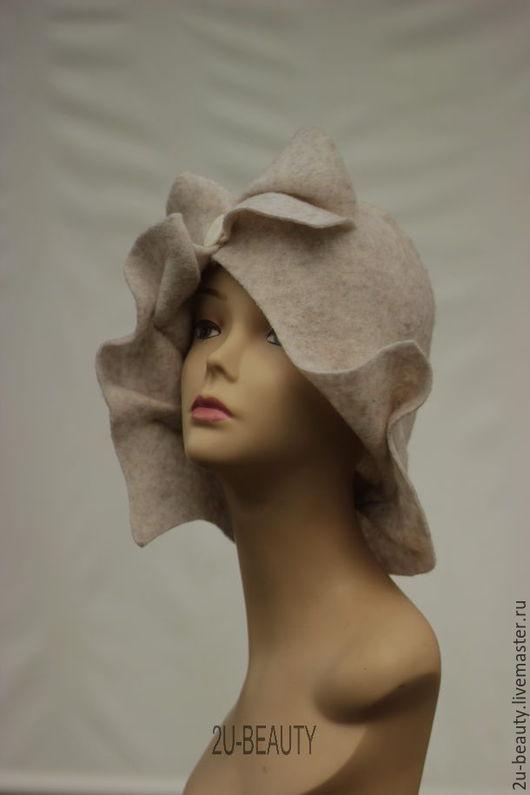 Шляпы ручной работы. Ярмарка Мастеров - ручная работа. Купить Шляпа из войлока. Дизайнерская шляпка. Шляпка для весны, для осени.. Handmade.