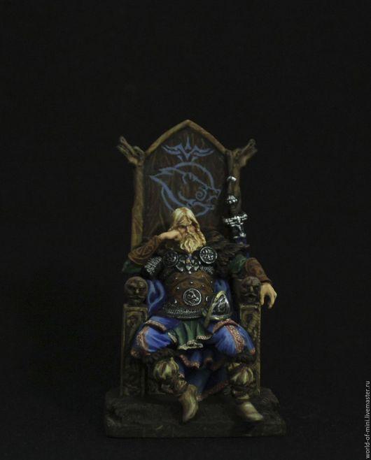 Ярл на троне 54мм в стиле Skyrim