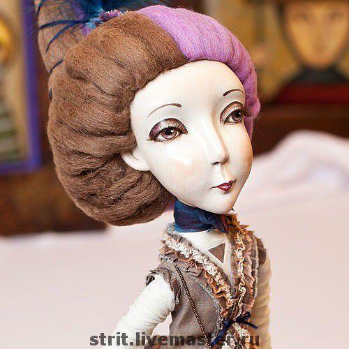 Сказочные персонажи ручной работы. Ярмарка Мастеров - ручная работа. Купить Мармеладка. Handmade. Интерьерная кукла, ручная работа, Ладол