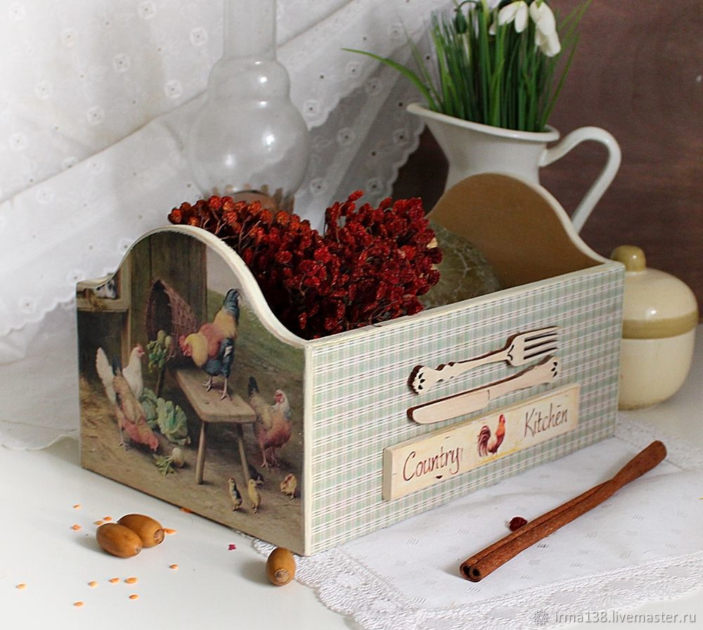 "Короб кухонный ""Country Kitchen"", Утварь, Нижний Тагил,  Фото №1"
