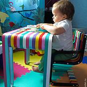 Для дома и интерьера ручной работы. Ярмарка Мастеров - ручная работа Стол и стул для малышей. Handmade.