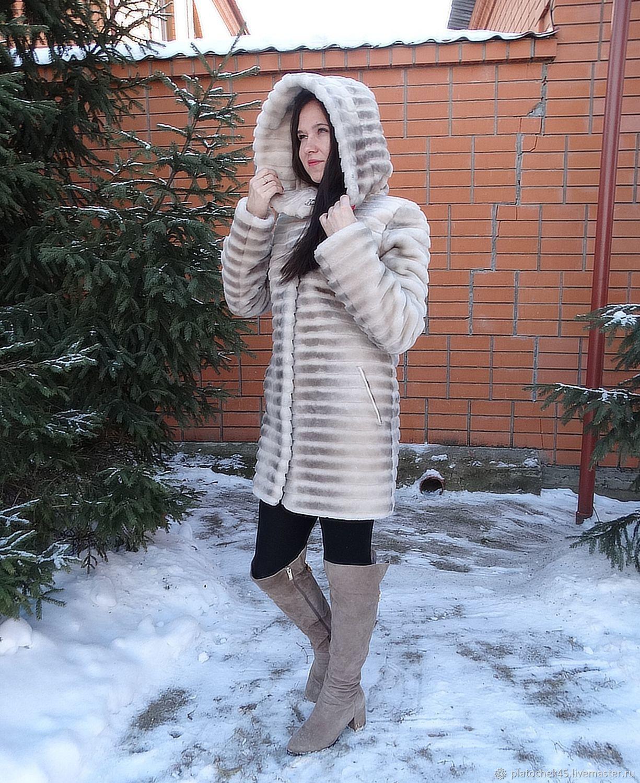 Женская шуба из цельного мутона, Шубы, Шадринск,  Фото №1